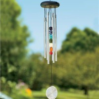 Chakra Wind Chime in Wind Chimes