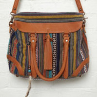 Old Trend Jacquard Satchel at Free People Clothing Boutique