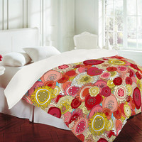 DENY Designs Home Accessories | Sharon Turner Coral Garden Duvet Cover