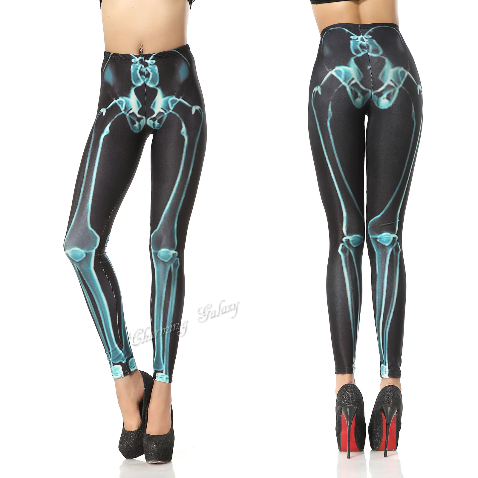 Patterned leggings outfit ideas