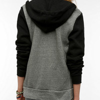 Urban Outfitters - Alternative Colorblock Rocky Zip-Up Hoodie