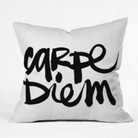 DENY Designs Home Accessories | Kal Barteski Carpe Diem Throw Pillow