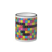 Happy Birthday To You - Wordsearch Mug at Zazzle.ca
