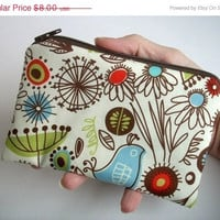MOVING SALE Zipper Pouch Little coin purse gadget by JPATPURSES