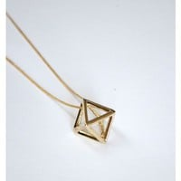 Prism Pendant Necklace