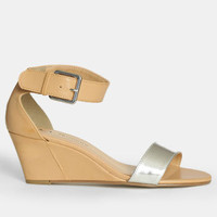 Total Thrill Strappy Wedges - $45.00 : ThreadSence, Women's Indie & Bohemian Clothing, Dresses, & Accessories
