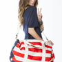 Brandy ♥ Melville |  John Galt American Flag Messenger Bag - Bags - Accessories