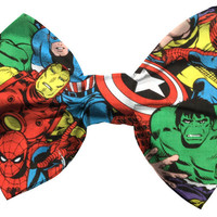 Marvel/Avengers Hair Bow - Dimeycakes
