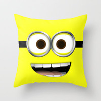 minion *new* Throw Pillow by cbrocoff | Society6