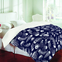 Jennifer Denty Jellyfish Duvet Cover