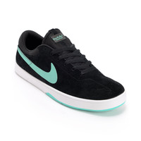 Nike SB Eric Koston Black &amp; Crystal Mint Skate Shoe