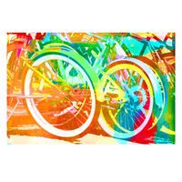 Bicycle Hues Wall Art
