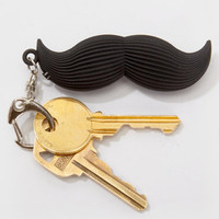 Novelty Talking Moustache Keyring | Shop Mustache Gifts Now | fredflare.com