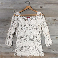 Morning Horse Lace Blouse, Sweet Country Inspired Clothing