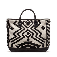 GEOMETRIC PRINT SHOPPER