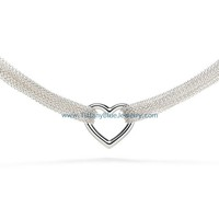 Find The Last Cheap Tiffany & Co Ten Row Heart Toggle Necklace In Tiffanybluejewelry.com