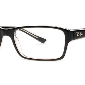 Ray Ban Eyeglass Frames Lenscrafters : RX5169: Shop Ray-Ban Rectangle Eyeglasses from ...