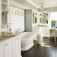 polished master bath