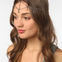 Rhinestone Goddess Chain Headdress
