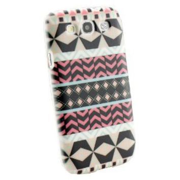 Amazon.com: Stylish Aztec Tribal Tribe Black kaleidoscope Pattern Hybrid High Impact Case Tribal for SAMSUNG GALAXY S3 I9300 SIII hard Case cover snap on: Cell Phones & Accessories