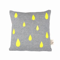 ferm LIVING Raindrop Cotton Accent Pillow