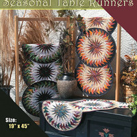 Foundation Paper Piecing Pattern Table Runner  Seasonal Table Runners