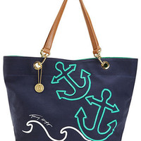 Tommy Hilfiger Handbag, Canvas Sail Tote - $49.99-$99.99 Select Handbags - Handbags & Accessories - Macy's