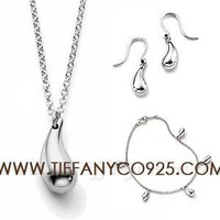 Shopping Cheap Elsa Peretti Teardrop Pendant Set At Tiffanyco925.com - Discount Tiffany Setting