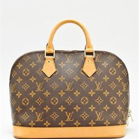 Louis Vuitton LU Monogram Alma Handbag- Made in France - Louis Vuitton Handbags - Modnique.com