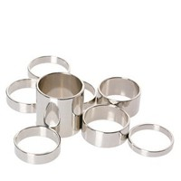 ASOS Pack of 8 Smooth Rings at asos.com