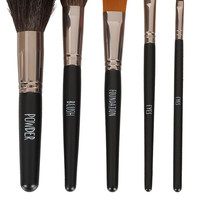 Velvet Lined Make Up Brush Set - Make Up Gift Sets - Make Up - Topshop