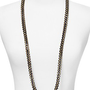 Kenneth Jay Lane Cord Lapis Twisted Stone Necklace, 40&quot; | Bloomingdale&#x27;s