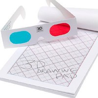 3D Drawing Pad (50 Sheets)