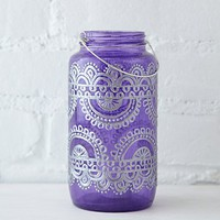 Free People 32 Oz Mason Jar Lantern
