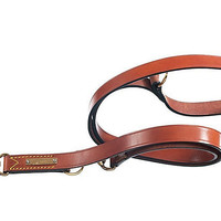 One Kings Lane - Pet Accessories - Training Leash w/ Quick Release, Brown