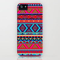 Aztec Style iPhone Case by Maximilian San | Society6