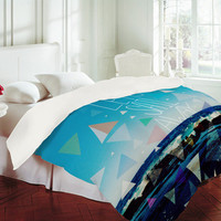DENY Designs Home Accessories | Leah Flores Lets Sail Away Duvet Cover