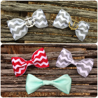 Sailor Anchor Hair Bows