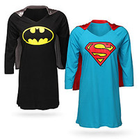 Superheroine Sleep Shirts