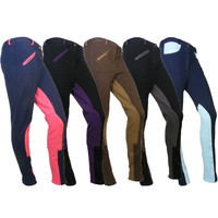Ladies Horse Riding Cotton Stretch Jodphurs Showing Breeches Jodhpurs UK 24-38