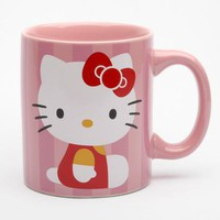 Hello Kitty 12oz Ceramic Mug: Classic Pink