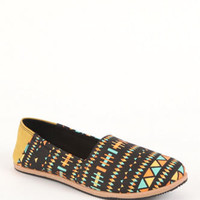 Qupid Pam Tribal Slip On Flats at PacSun.com