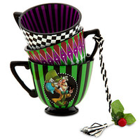 Disney Alice in Wonderland Tea Cup Ornament - The Mad Hatter | Disney Store