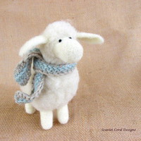 Craftori  » Felted Wool Sheep