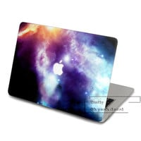 Universe violet space nebula Decal for Macbook Pro, Air or Ipad Stickers Macbook Decals Apple Decal for Macbook Pro / Macbook Air JQ-004