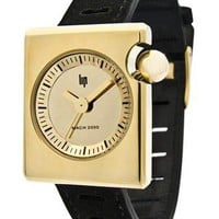 LIP Mach 2000 Duchesse Ladies Gold Watch available at Watchismo.com