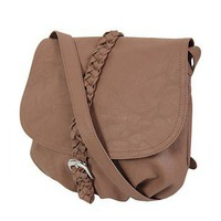 Retro Brown Serratula Messenger Bag