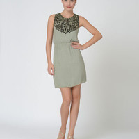 MJ1417 Day Dress by Mark + James for Badgley Mischka