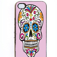 iPhone 4 iPhone 4s iPhone 5 Colorful Skull Design Hard Snap On iPhone 4 iPhone 4s iPhone 5 Case