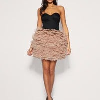 Rare | Rare Opulence Corset Ballet Net Dress at ASOS